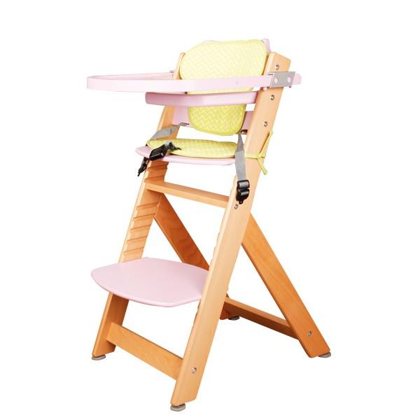 3d7c3fcd315c Detská kŕmiaca stolička ružová - nábytok