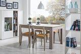 Jedálenský stôl NORDIC 90x140/+40 cm